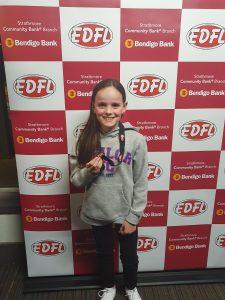 EDFL Junior B&F Night - Awards Grace Cullen