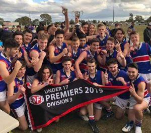 2019 Junior Premierships Under 17 Div 3 Premiership 2019