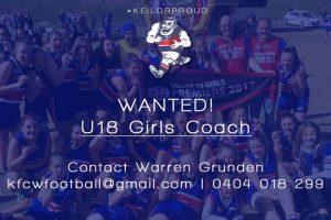 U18 Girls Coach Wanted 86718707 2791922154207486 6702492530665062400 o