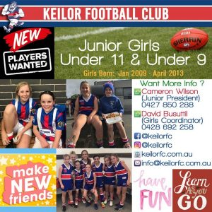 SEEKING - U9 & U11 Girls Footballers 88169106 2810168115716223 2969034458486800384 o